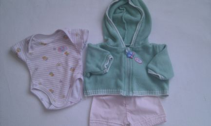 Adorable My 1st 'Baby Born Playtime' Baby Doll 3-Piece Outfit